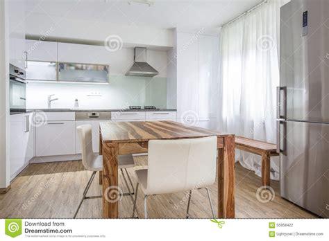 conception de cuisine architecture moderne de conception intérieure de cuisine photo stock image 55958422