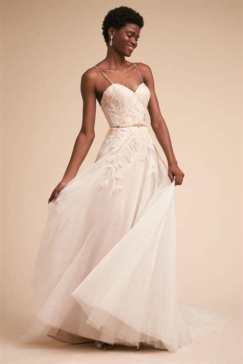 Bhldn Guinevere Gown Best Beach Wedding Dresses