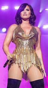 Wardrobe malfunction carnage for Demi Lovato as she ...