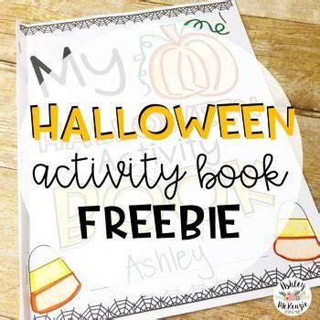 halloween activity book freebie  images