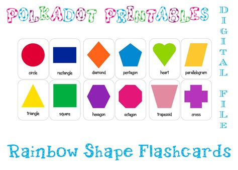 free printable preschool flash cards 8 best images of printable shape flash cards for toddlers 77023