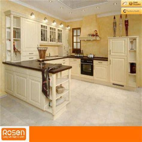 european style white oak solid wood kitchen cabinets