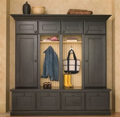 Entryway Boot Benches And Mudroom Lockers Traditional