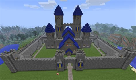 minecraft castle ideas  love  courtyard including