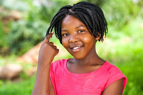 Peppy African-american Braided Hairstyles For Children