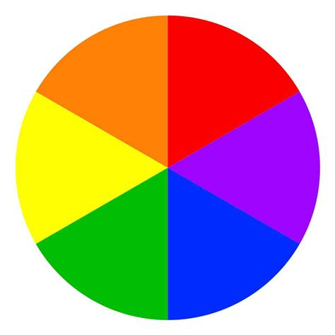 catch on a color wheel complementary colors