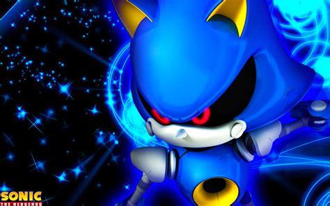 Sonic Background Metal Sonic Wallpaper By Sonicthehedgehogbg On Deviantart
