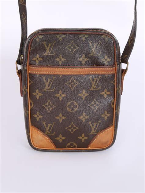 louis vuitton danube monogram canvas messenger luxury bags