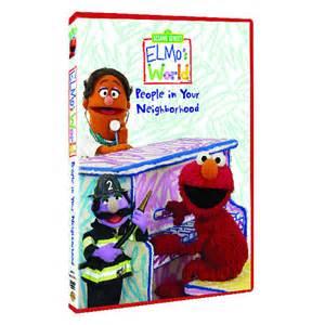 Sesame Street Elmo's World: The People In Your Neighborhood Dvd