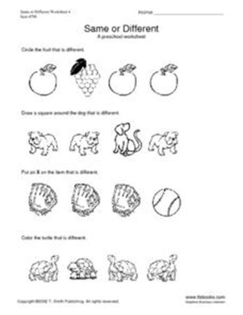 preschool worksheet kindergarten