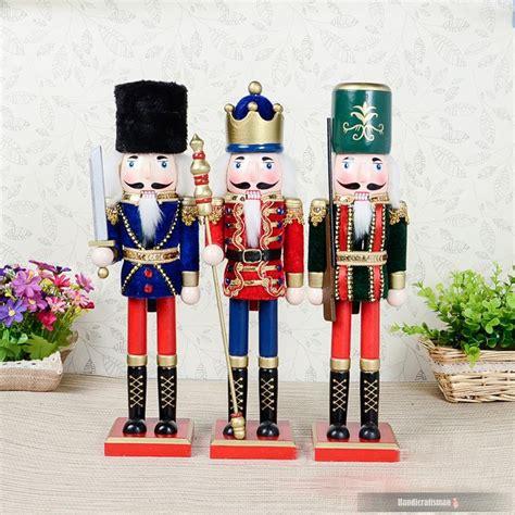 2015 promotion new mascot artesanato madera christmas nutcracker decorations folk art puppets