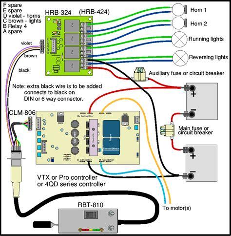 loco wiring horn relay board 4qd