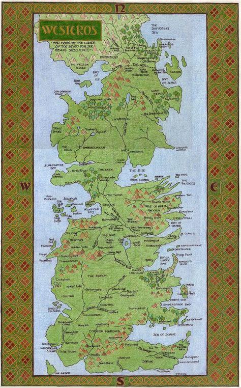 nerdovore  maps  westeros