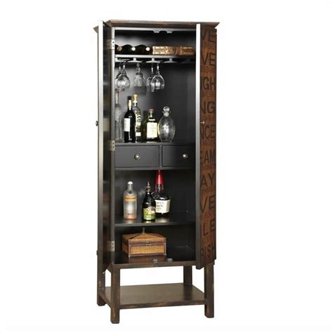 Pulaski Accents Wine Cabinet by Pulaski Accents Artistic Expressions Wine Cabinet In
