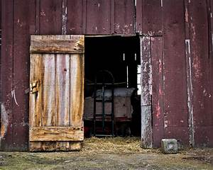 born in a barn villagephotography With barn door wide opening