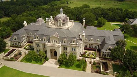 48,000 Square Foot Champ D'or Estate French Style Mega