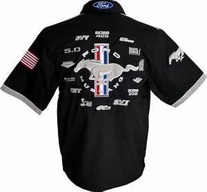 Ford Mustang Shirt - 2018 - US-car- and NASCAR- fashion