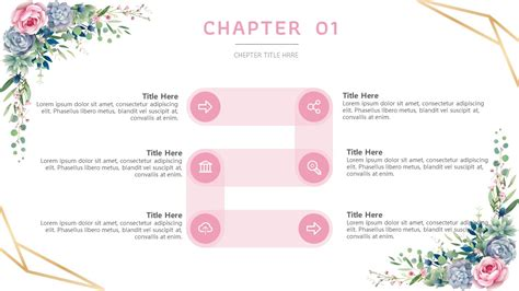 classic flowers template powerpoint hub