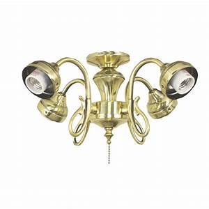 Harbor breeze light burnished brass ceiling fan