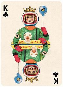 Whimsically Vintage Poker Packs  Retro Card Deck
