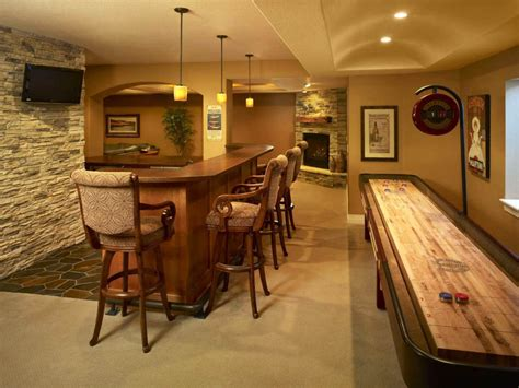 Simple Home Bar Design Ideas by 21 Beautiful Traditional Basement Designs