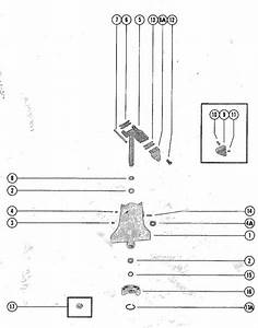 Mercury Marine Model 500  50 Hp Swivel Bracket Assembly Parts