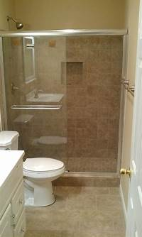 stand up shower ideas Hometalk | Another Bath Remodel. Took out the bathtub and ...