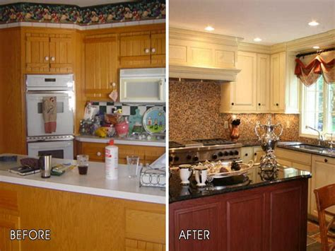 Cheap Kitchen Makeover Ideas Before And After - diy kitchen cabinet makeover ideas all about house design