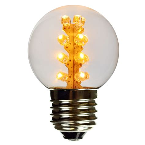 warm white led globe light bulb g50