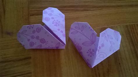 origami    love simple  easy  heart