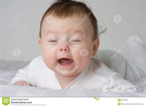 Crying Infant Royalty Free Stock Image Image 3973496