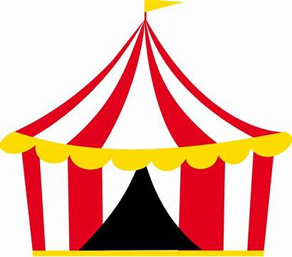 Circus Clipart Tent Marquee Transparent Tenda Carousel