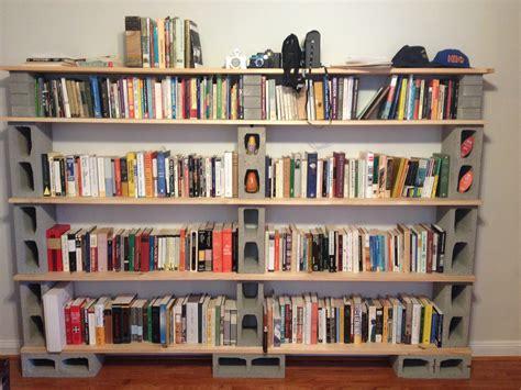 Diy Cinderblock Bookshelf Creations Pinterest