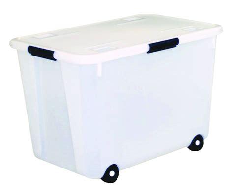 Storage Bins With Wheels