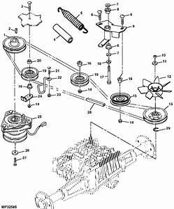 John Deere Lt150 Belt Diagram