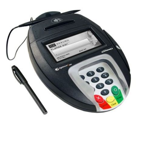 pos network hypercom optimum  credit card terminals