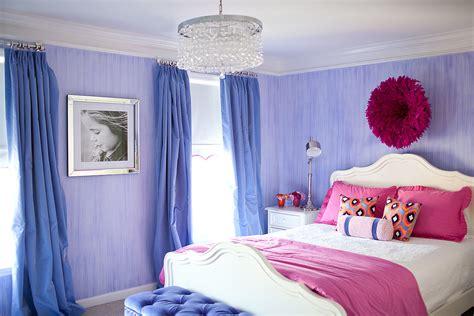Pretty And Stylish Pink And Purple Big Girl's Room