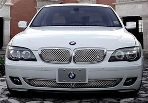 Bmw 750li Chrome Bentley Dual Weave Mesh Grille