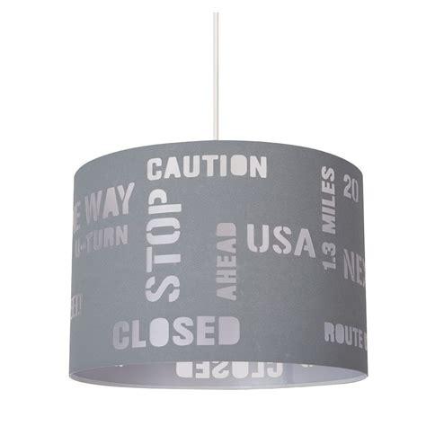 luminaire suspension chambre suspension grise pour ado luminaire déco usa en vente sur