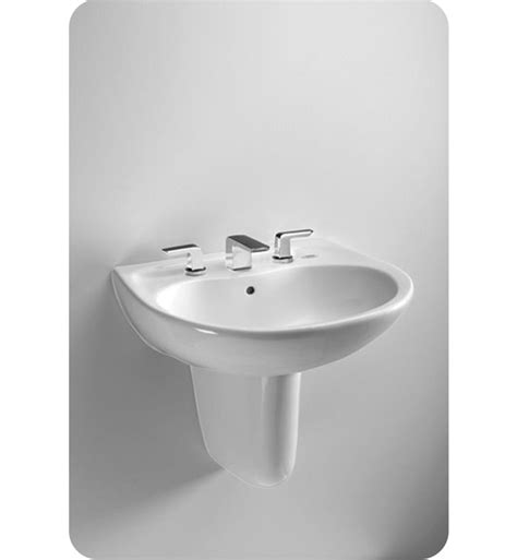 toto wall mount sink toto lht242g prominence wall mount lavatory with sanagloss