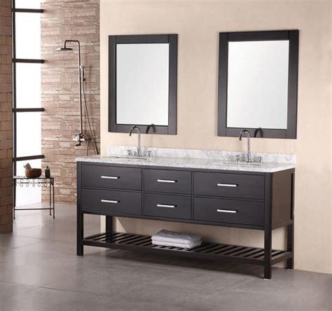 Contemporary Bathroom Cabinet by Design Element Bathroom Vanities Contemporary Bathroom