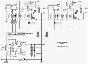 Vinylsavor  6ge5 Stereo Amplifier  Part 1   Circuit  U0432 2019