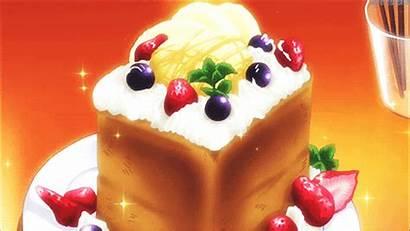 Anime Cake Delicious Looks Gifs Sweet Honey