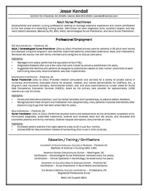 free nurse practitioner cover letter sle http www
