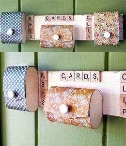 DIY organizer: for those with limited space - Mod Podge Rocks