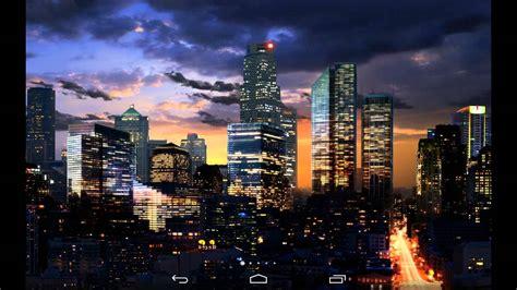 city live wallpaper city skyline live wallpaper