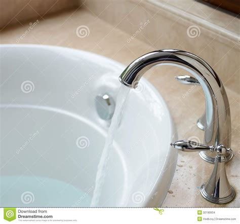 Bathtub Faucet Water by Luxury Bath Tub Stock Images Image 32190934