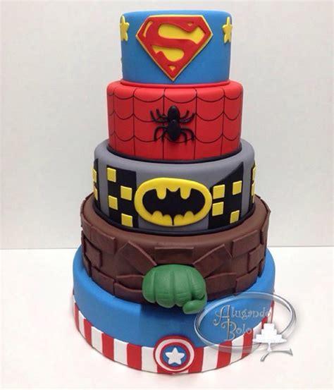 bolo super 243 is loca 199 195 ob10 cake superhero and hero