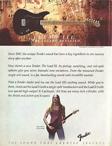 Antiguas Propagadas Y Catalogos De Fender  Unico