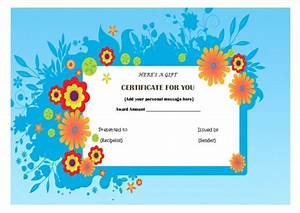top 10 specialized manicure gift certificate templates With pedicure gift certificate template